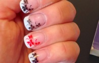Konad nail flowers