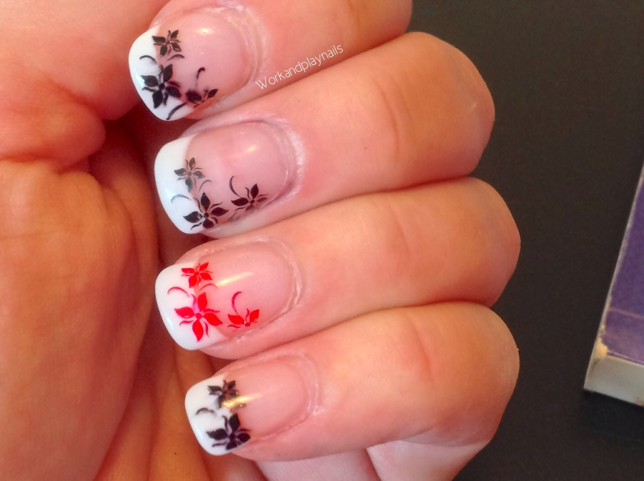 Konad Nail Flowers Work And Play Nails
