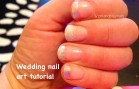 Wedding nail art tutorial