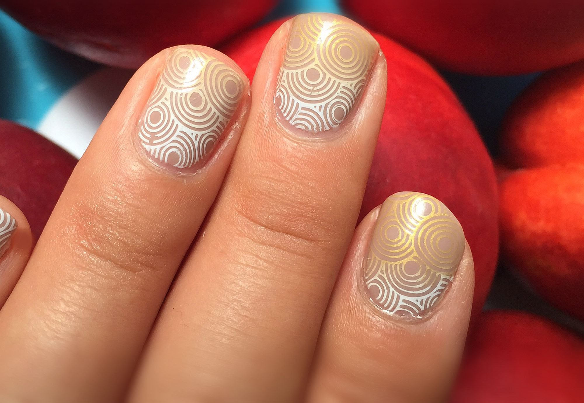 Konad Gradient Stamping Tutorial - Work And Play Nails