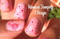 Pretty in pink nail art tutorial