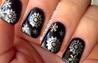 Christmas Snowflakes Tutorial (Nail Art Series) Part 4 of 6