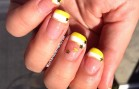 Yellow & Gold French Tip Tutorial